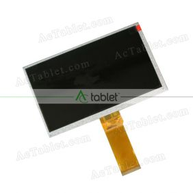 Replacement KR070PK7T LCD Screen for 7 Inch Tablet PC