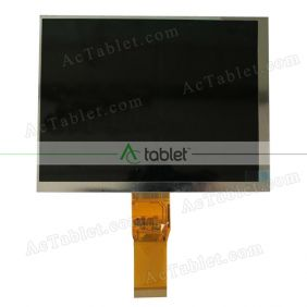 Replacement KR080PC9T 1030300696-A LCD Screen for 8 Inch Tablet PC