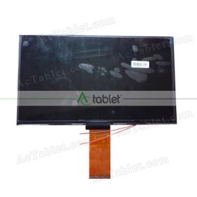 Replacement KR101LC3S LCD Screen for 10.1 Inch Tablet PC