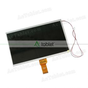 Replacement KR101LC7S LCD Screen for 10.1 Inch Tablet PC