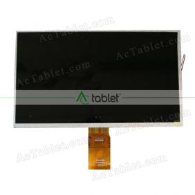 Replacement KR101LD2S LCD Screen for 10.1 Inch Tablet PC