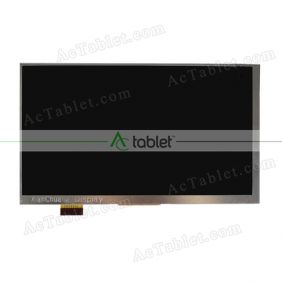 Replacement VTC5070AB5-FPC-3.0 LCD Screen for 7 Inch Tablet PC