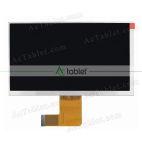 Replacement FY07024DI26176-1-FPC1-A LCD Screen for 7 Inch Tablet PC