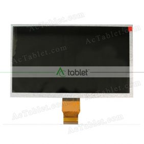 LJD700C003A-FPC-1.0 LCD Display Screen Replacement for 7 Inch Tablet PC