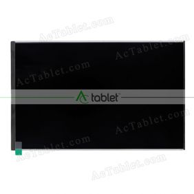Replacement T096BWX001T LCD Screen for 9.6 Inch Tablet PC