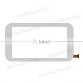GT07013A FPC Digitizer Glass Touch Screen Replacement for 7 Inch MID Tablet PC