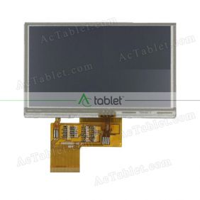Replacement L043025Q0-40 v1 LCD Screen for 4.3 Inch Tablet PC