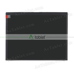 Replacement 1213-0970091 LCD Screen for 9.7 Inch Tablet PC