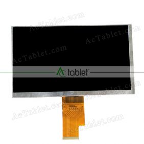 Replacement 070LB8S 1030300358/C LCD Screen for 7 Inch Tablet PC