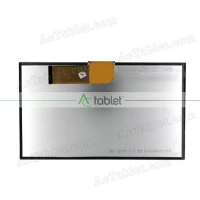 Replacement YX101B40WP LCD Screen for 10.1 Inch Tablet PC