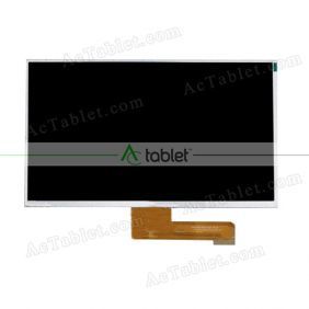 Replacement KD101N7-40NB-A24 V2 FPC LCD Screen for 10.1 Inch Tablet PC