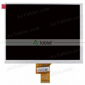 Replacement 7300300384C E231732  LCD Screen for 8 Inch Tablet PC
