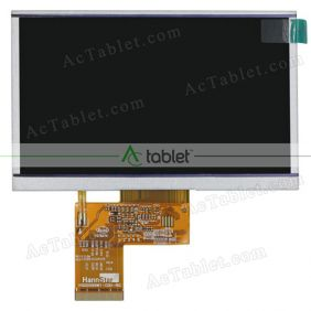 Replacement HSD050I9W1-C00-RIC LCD Screen for 5 Inch Tablet PC