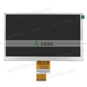 Replacement FPC-70BN629-V02 LCD Screen for 7 Inch Tablet PC