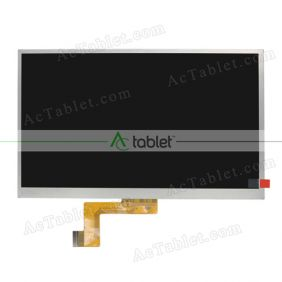 Replacement LCD Display Screen for XIDO X110 3G 10.1 Inch Quad Core Tablet PC