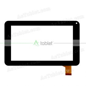 FHF070041 Digitizer Glass Touch Screen Replacement for 7 Inch MID Tablet PC