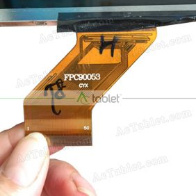 Replacement FPC90053 CYX LCD Screen for 9 Inch Tablet PC