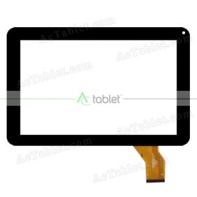 FK-91405 Digitizer Glass Touch Screen Replacement for 9 Inch MID Tablet PC