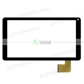 MF-817-101F-3 FPC Digitizer Glass Touch Screen Replacement for 10.1 Inch MID Tablet PC