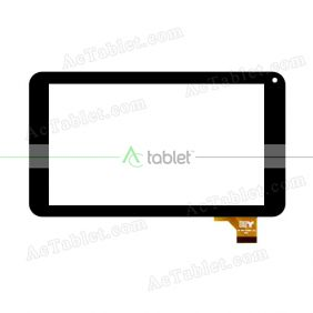DP070004-F1 Digitizer Glass Touch Screen Replacement for 7 Inch MID Tablet PC