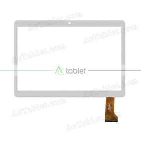WJ1091-FPC-V2.0 Digitizer Glass Touch Screen Replacement for 10.1 Inch MID Tablet PC