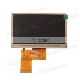 Replacement GL043015C0-40 LCD Screen for 4.3 Inch Tablet PC