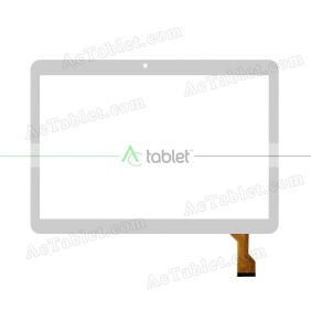 MJK-0643-V1 FPC Digitizer Glass Touch Screen Replacement for 9.6 Inch MID Tablet PC