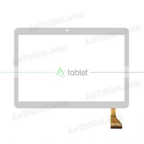 HC222156A1-FPC V1 Digitizer Glass Touch Screen Replacement for 9.6 Inch MID Tablet PC