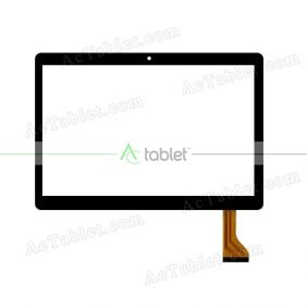 WY808 FHX Digitizer Glass Touch Screen Replacement for 9.6 Inch MID Tablet PC