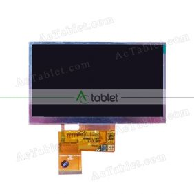 Replacement KD50G10-40NC-A3 LCD Screen for 5 Inch Tablet PC