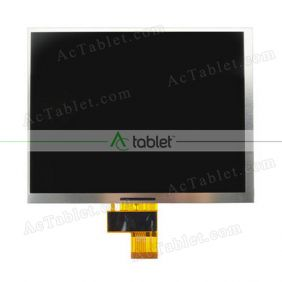 Replacement 32001014-02 LCD Screen for 8 Inch Tablet PC