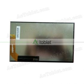 Replacement DX0800BE31A0 LCD Screen for 8 Inch Tablet PC