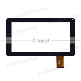 GT90BH8016B Digitizer Glass Touch Screen Replacement for 9 Inch MID Tablet PC