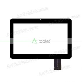 IDH-1017A1-GG-FPC070-V2.0 Digitizer Glass Touch Screen Replacement for 10.1 Inch MID Tablet PC