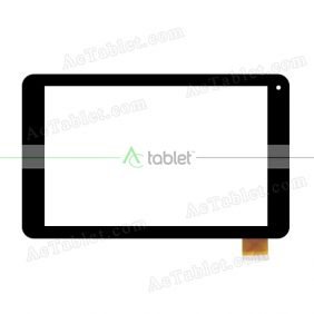 HOTATOUCH HC259160A1-FPC V1 Digitizer Glass Touch Screen Replacement for 10.1 Inch MID Tablet PC