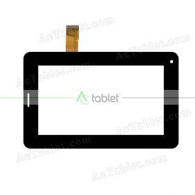 YJ040FPC-V1 Digitizer Glass Touch Screen Replacement for 7 Inch MID Tablet PC