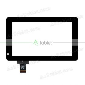 YJ119FPC-V0 Digitizer Glass Touch Screen Replacement for 7 Inch MID Tablet PC