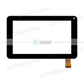 YJ038FPC-V0 Digitizer Glass Touch Screen Replacement for 7 Inch MID Tablet PC