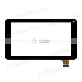 YJ310FPC-V0 Digitizer Glass Touch Screen Replacement for 7 Inch MID Tablet PC