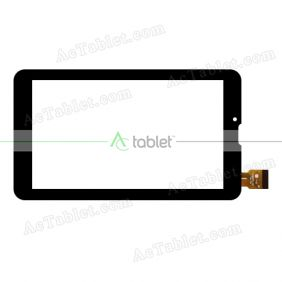 YJ286FPC-V0 Digitizer Glass Touch Screen Replacement for 7 Inch MID Tablet PC