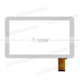 YJ151FPC-V0 Digitizer Glass Touch Screen Replacement for 10.1 Inch MID Tablet PC