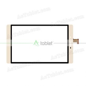 PB80JG3146 Digitizer Glass Touch Screen Replacement for 8 Inch MID Tablet PC