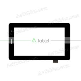 YCG-C7.0-0083A-FPC-01 Digitizer Glass Touch Screen Replacement for 7 Inch MID Tablet PC