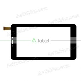 0112-BLX Digitizer Glass Touch Screen Replacement for 7 Inch MID Tablet PC