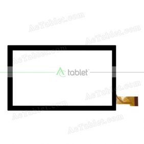 CTP070111FPC_1.0 Digitizer Glass Touch Screen Replacement for 7 Inch MID Tablet PC