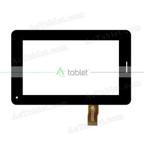 LT-6384-FHF-A274 Digitizer Glass Touch Screen Replacement for 7 Inch MID Tablet PC