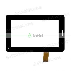CN002C0700-V0 Digitizer Glass Touch Screen Replacement for 7 Inch MID Tablet PC