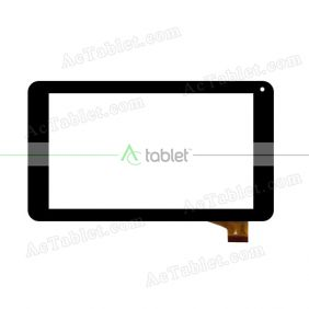 ZJ-70065B Digitizer Glass Touch Screen Replacement for 7 Inch MID Tablet PC