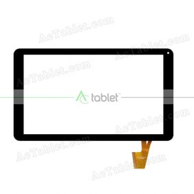 VDO-910 Digitizer Glass Touch Screen Replacement for 10.1 Inch MID Tablet PC