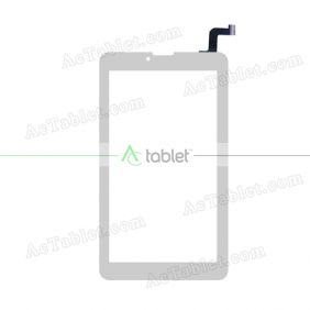 QCY-070152FPC Digitizer Glass Touch Screen Replacement for 7 Inch MID Tablet PC